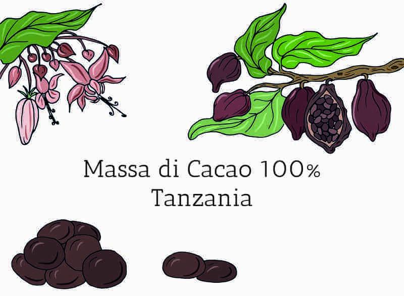 Massa di cacao in gocce Tanzania 100%