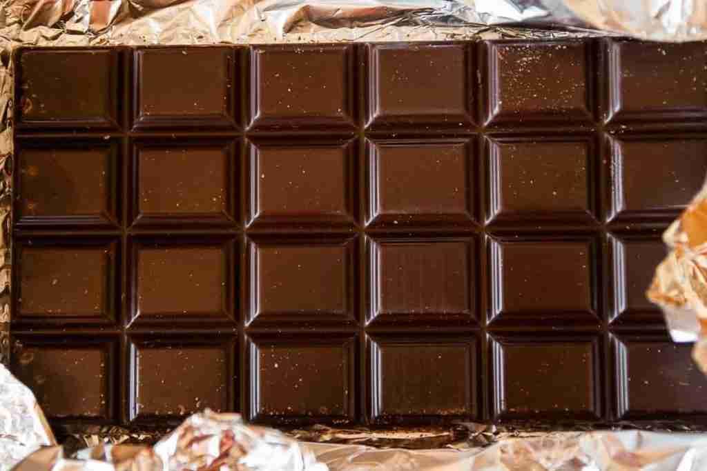 Storia delle tavolette di cioccolato