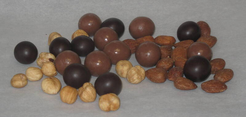 Drageés al cioccolato